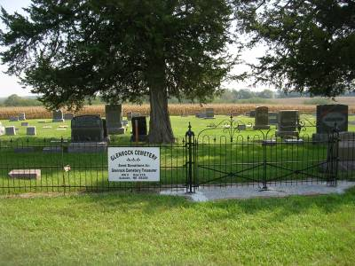 Cemetery Gate and Sign
