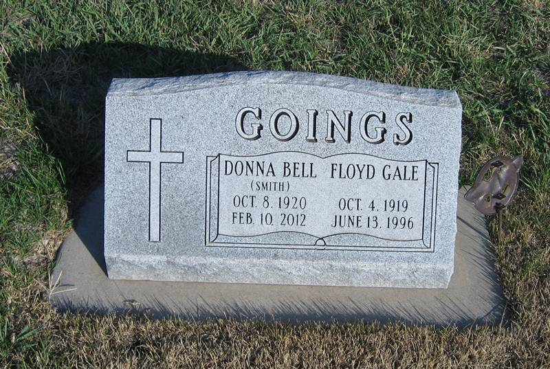 Donna Bell (Smith) Goings Grave Photo