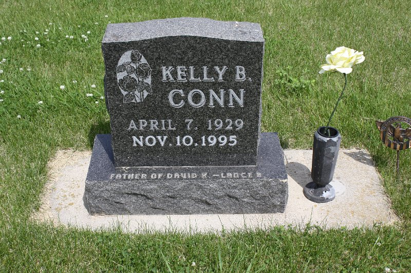 Kelly B. Conn Grave Photo