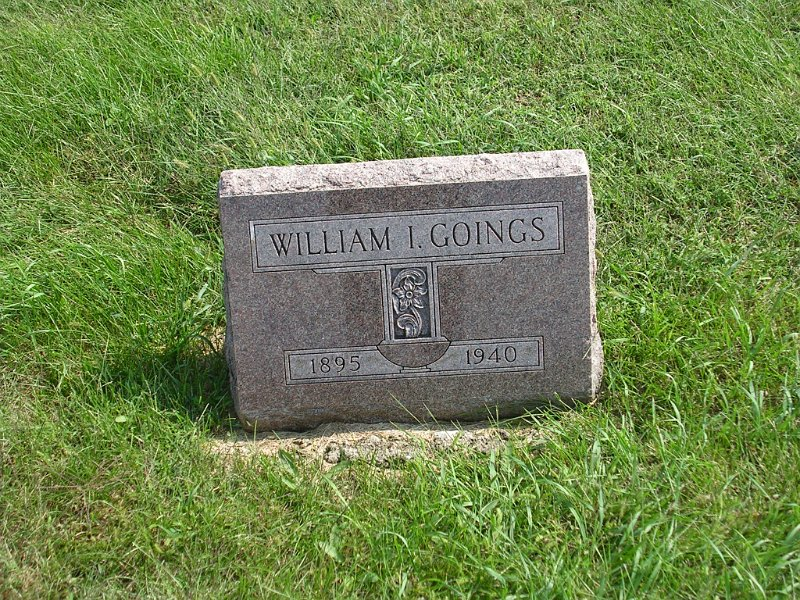 White S. Goings Grave Photo
