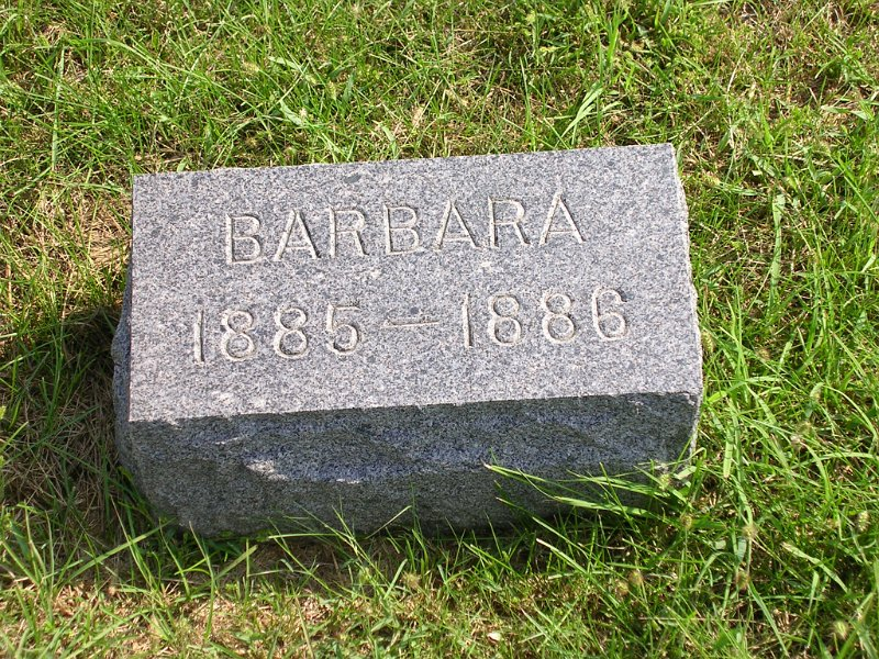 Barbara Graham Grave Photo