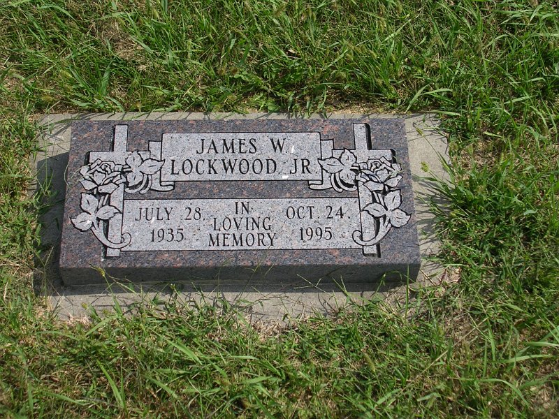 James W Jr. Lockwood Grave Photo