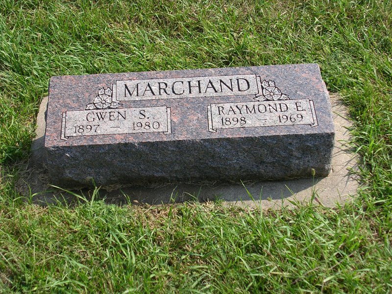 Gwen S. Marchand Grave Photo