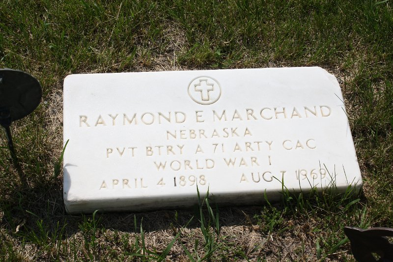 Raymond E. Marchand Grave Photo