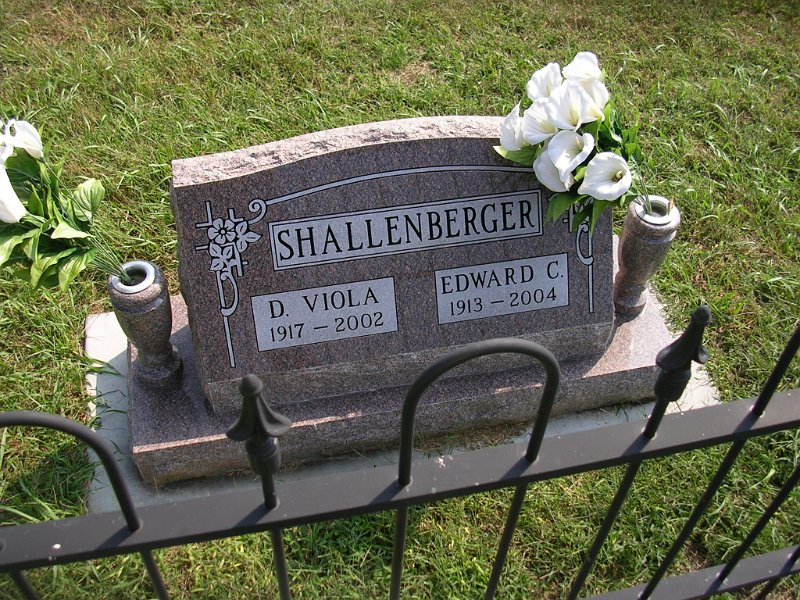 Edward C. Shallenberger Grave Photo