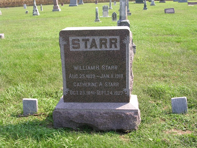 Catherine A. Starr Grave Photo