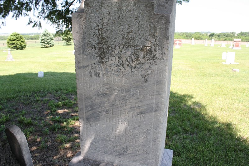 Juliann Swift Grave Photo